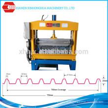 Painel de telhado metálico Máquina de dobra hidráulica automática de crimpagem