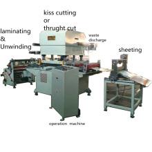 Roll to Sheet Baumwollgewebe Schneidemaschine