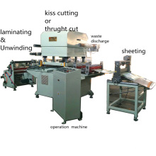 Roll to Sheet Cotton Fabric Cutting Machine