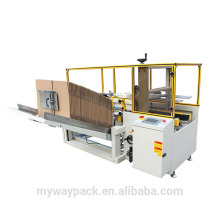 carton erector for corrugated box forming