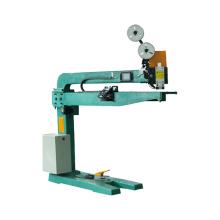 Manual servo driven single piece stitching machine
