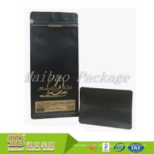 O costume do produto comestível imprimiu o empacotamento Resealable plástico dos saquinhos de chá do café do fechamento do fecho de correr da folha matte