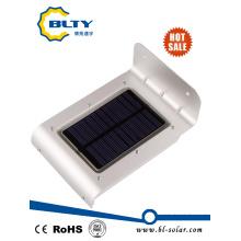 Outdoor LED Solar Garden Light con sensor de movimiento