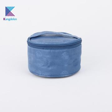 Travaling Bucket Print Zipper Travel Bag