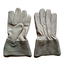 Козлиная кожаная пайка и сварочные перчатки TIG для рабочих