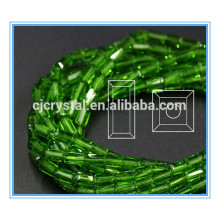 Loose glass rectangle beads glass beads craft items
