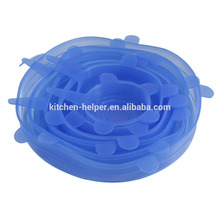 BPA Free Food Lids Durable Silicone Suction Lid/Silicone Sealing/Silicone Pot Cover Lid