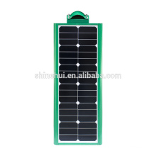 Green color 20W All in one solar street lights with camera IP65