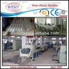 conducto del cable eléctrico línea de extrusión de tubería de PVC