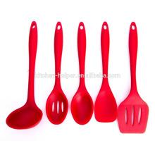 Novo design de silicone nylon personalizado cozinha utensílios