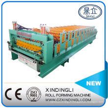 Fabricant de machine de laminage à froid de feuille de toiture ondulée double couche et Ibr en Chine