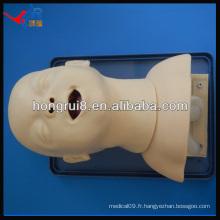 HR / J10 simulateur de bord aérien d'intubation pour nourrissons avancé