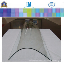 Customized Float Glass Pane, Beveled Glass for Glass Dining Table,