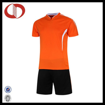 Atacado Dri Fit Custom Design Futebol Jersey Uniformes
