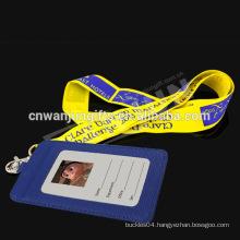 Handmade neck Label ribbon blanks lanyard keychains