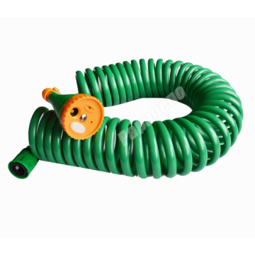 Manguera de jardín en espiral de EVA de plástico de manguera de agua de 15 m barato
