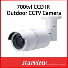 700tvl Sony CCD al aire libre de infrarrojos Bullet cámara de seguridad CCTV (W24)