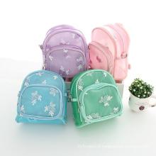 Bebê uma peça menta verde azul roxo rosa mochilas para crianças escola estudando sacos