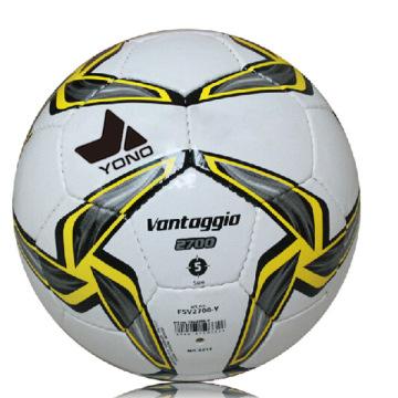 Ballons de football blanc uni de bonne qualité en vrac