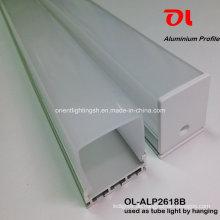 LED-Aluminiumprofil durch Aufhängen für LED-Streifen (ALP2618B)