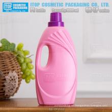 QB-LP1000 beliebtesten und schönsten Farbe anpassbare guter Qualität 1000ml / 1L Hdpe Kunststoff Wäsche Waschmittel Flasche