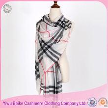 Meilleur vendeur OEM qualité châle de laine de cachemire dans beaucoup de style