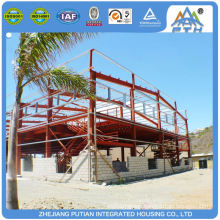 Economical new design PVC floor prefab school