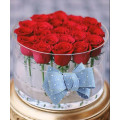 Boîte en fleurs acrylique personnalisée en usine