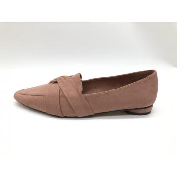 Damen Square Toe Classic Cute Ballerinas mit Slip-On