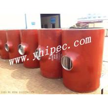 Carbone acier soudure bout à bout sans soudure réducteur Tee