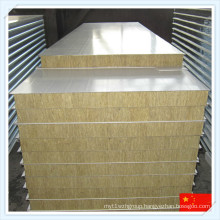 Fireproof Rock Wool Sandwich Panel for Wall or Roof