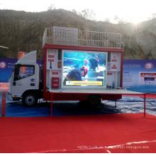Camiones de bomberos Propaganda camiones LED publicidad de JAC para la venta