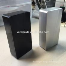 cnc machining aluminum enclosure/casting aluminum enclosures/cnc lathe machinining aluminum parts