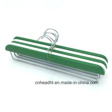 Cabide de madeira coloridas calças misto /Slacks