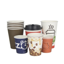 Custom paper cup sheet_Ripple Double Single Wall paper cup sheet_biodegradable plastic raw material cup coffee