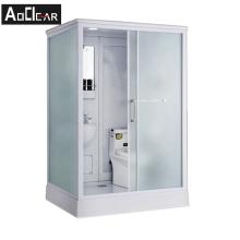 Aokeliya modern all in one bathroom and toilet enclosure prefab shower room and shower all in one bathroom