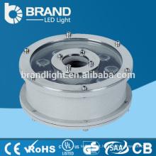 316 de aço inoxidável IP68 9W LED fonte luz, luz subaquática da fonte do diodo emissor de luz