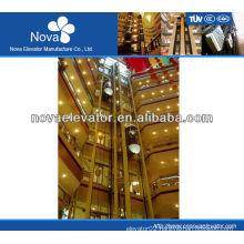 4 passenger panoramic elevator