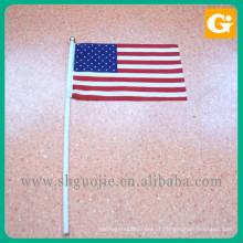 bandeiras do país para carros Handheld bandeira pequena para todos os países