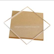 Hoja de plexiglás Pmma acrílico de sublimación de 3-100 mm