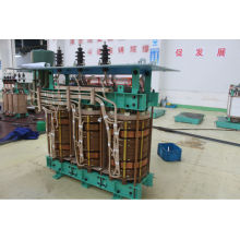 Transformateur de redresseur à pétrole à faible perte de 1250kVA pour alimentation électrique, 2 enroulements