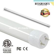 10W / 12W / 18W / 22W / 36W / 45W High Lumen T8 LED Tubo Light com ETL e Dlc