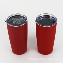 Matte Finishing Double Wall Thermos Wine Tumblers 20 oz