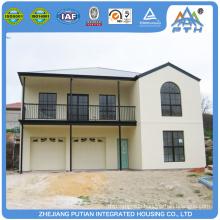 Malaysia beautiful appearance Galvanized Light Steel Structure modular house