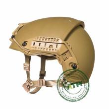 Casco balístico CP Prueba táctica de balas Nivel IIIA Casco Resistencia de balas para militares y ejército