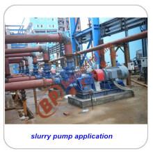 Pompe abrasive liquide élevée de boue pour l'application minière