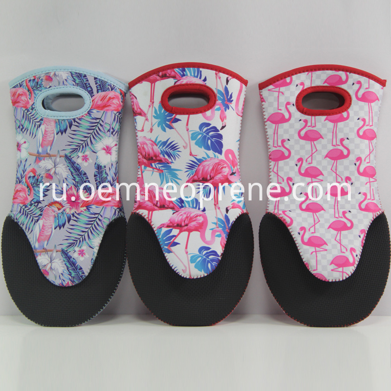 Sublimation oven mitts