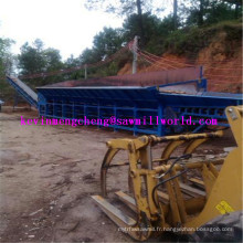 Machine d'épluchage de grand rondin de modèle de rouleau de l'écorceur simple LC9000 de bois de rendement élevé
