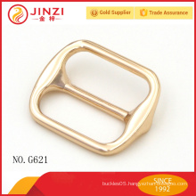 25mm shiny gold color handbags hardware bag buckles with good quality