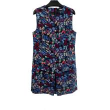 Women's Double Pocket Sleeveless Dresses